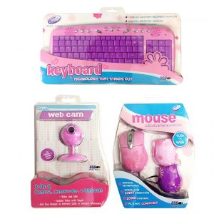 Girly Pink Daisy Set