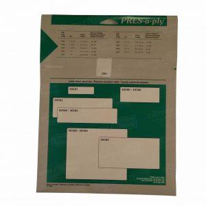 White Ink Jet 500 Labels