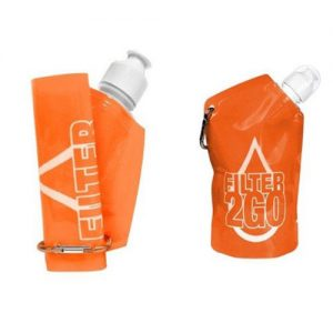 Pocket Filtration Bottle - Orange
