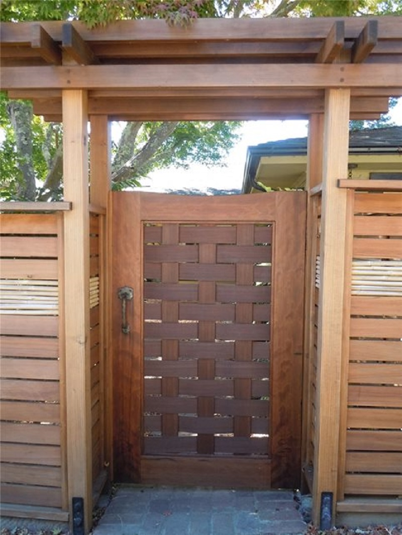 fence designs - asian gate - fence photos 2
