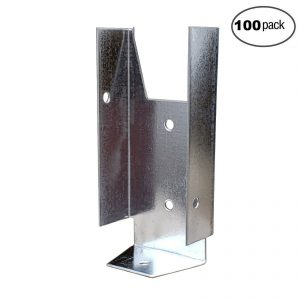 Fence Clip Bracket Hanger (100 Pack)