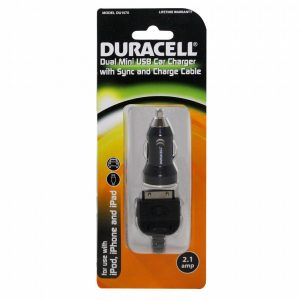 Duracell Dual USB Car Charger