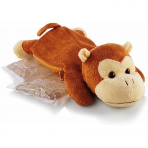 Hot/Cold Packs Plush Monkey Cover
