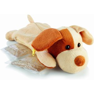 Hot/Cold Packs Plush Puppy Cover